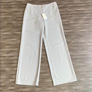 NWT Armani Collezioni Light Gray Slim Fit Trousers